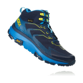 Hoka One One Toa GTX Saappaat Miehet, black iris/blue